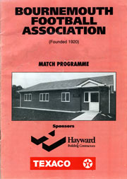 Programme May 1992